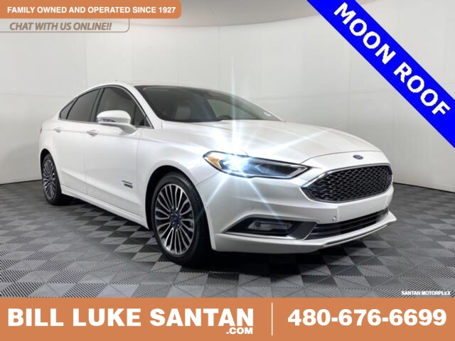 Pre-Owned 2017 Ford Fusion Energi Platinum
