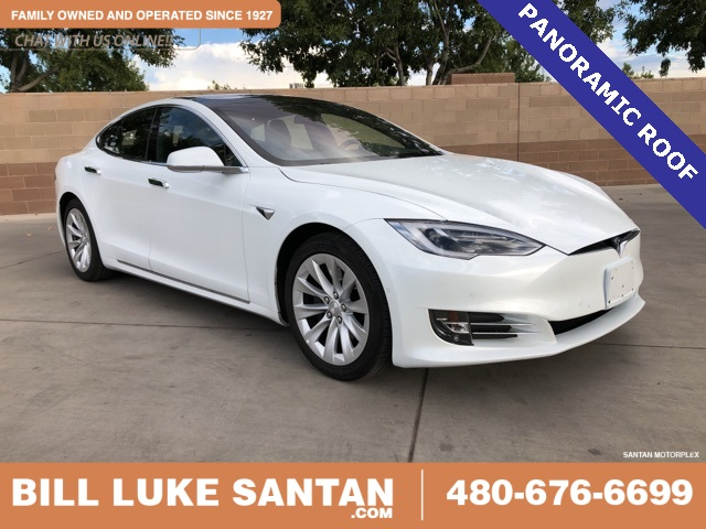 Pre Owned Tesla >> Pre Owned 2018 Tesla Model S 75d Awd 4d Hatchback