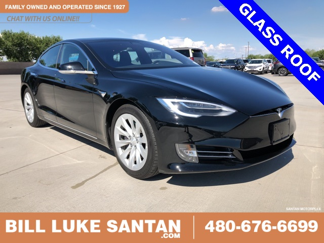 Pre Owned Tesla >> Pre Owned 2018 Tesla Model S 75d 4d Hatchback In Gilbert